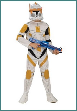 Costume carnevale clone star wars
