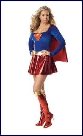 Costumi di carnevale supereroine