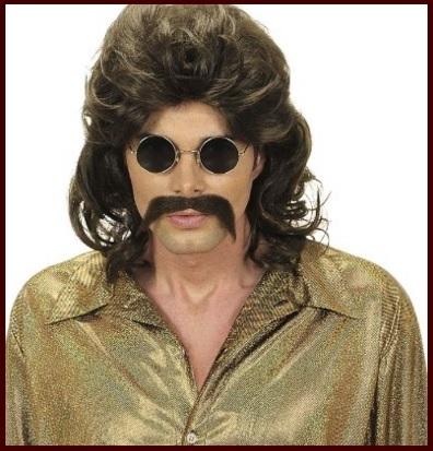 Parrucche carnevale anni 70