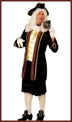 Parrucche carnevale storiche