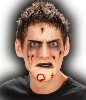 Maschere di carnevale da zombie