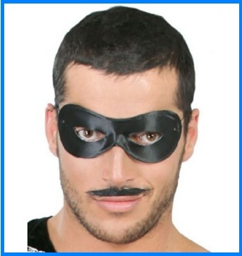 Maschera di carnevale zorro