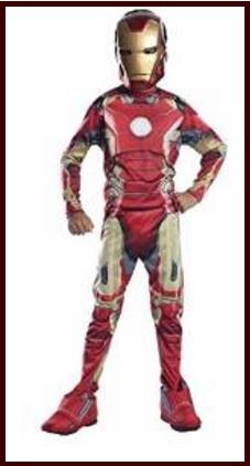 Costumi di carnevale dei supereroi