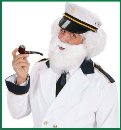 Maschere carnevale capitano