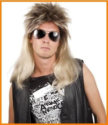 Parrucche carnevale anni 80