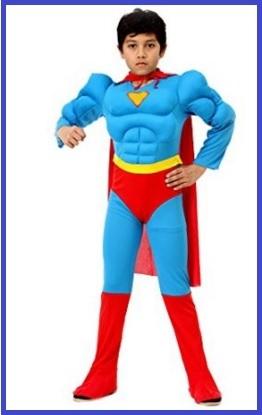 Costumi di carnevale supereroi bambini
