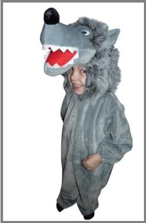 Vestito carnevale bambino animali