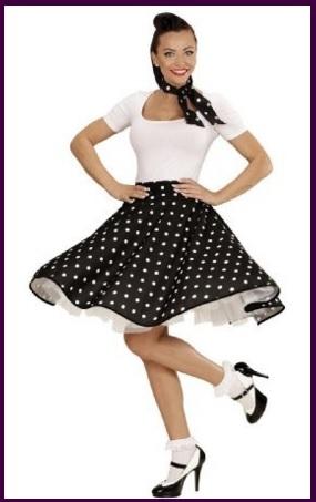 vendita outlet varietà di design vendite calde Costume di carnevale da donna anni 50 | Grandi Sconti ...