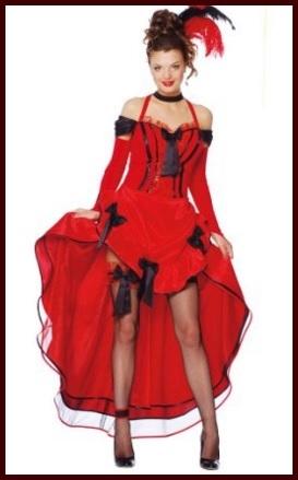 Vestito di carnevale da donna burlesque