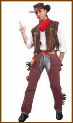 Costume carnevale cowboy uomo