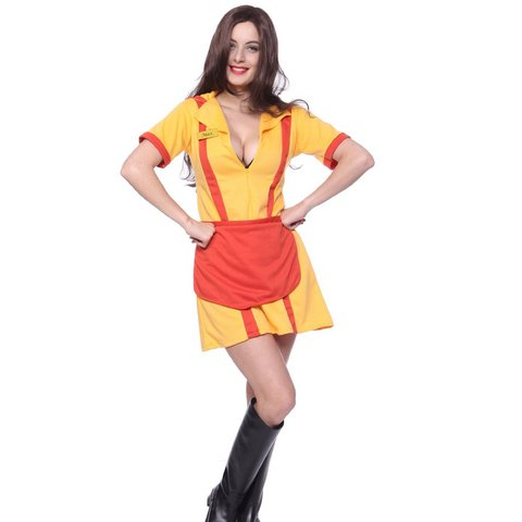 Costume di carnevale cameriera modello