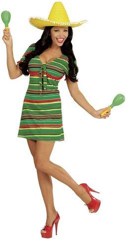 Costume da donna messicana, in taglia xl