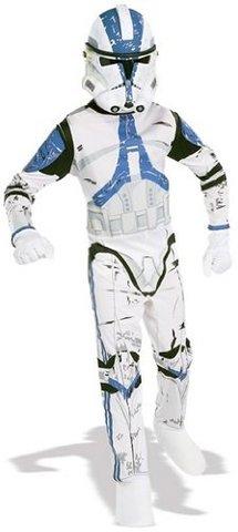 Costume carnevale da clone trooper guerre stellari star wars