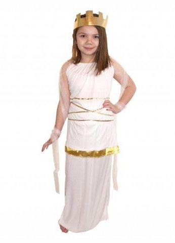 Costume da dea greca atena per bambina