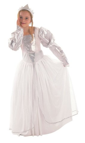 Costume da fatina principessa per bambina età 6-9 anni