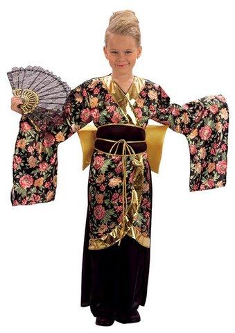 Costume da geisha per bambina età 10-13
