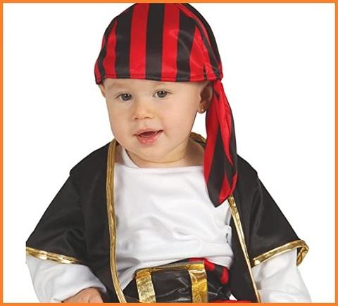 Costume da pirata per bambino neonato