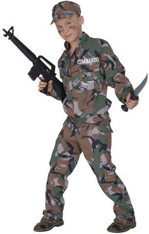 Costume da soldato, in taglia 5 - 7 anni