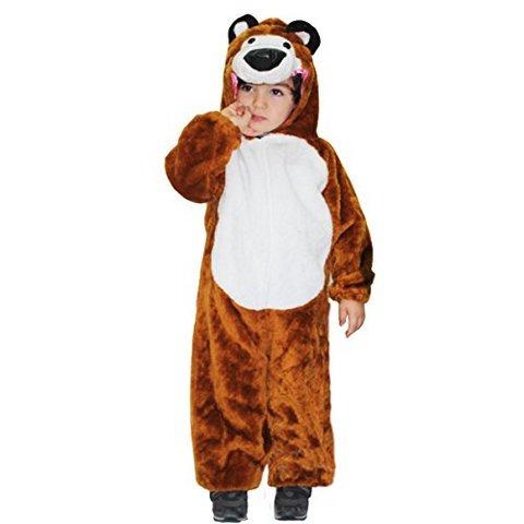 Costume di carnevale orso