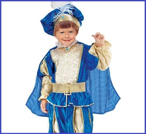 Costume di carnevale neonato da principe