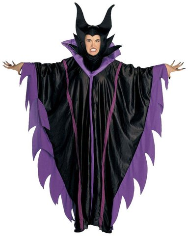 Costume da strega malefizia