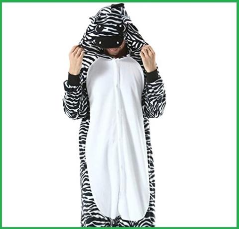 Costume carnevale donna zebra travestimento