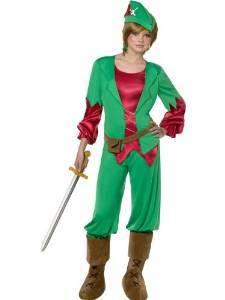 Peter pan costume da donna