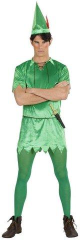 Peter pan costume per uomo