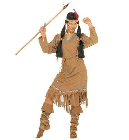 Costume da squaw indiana cheyenne