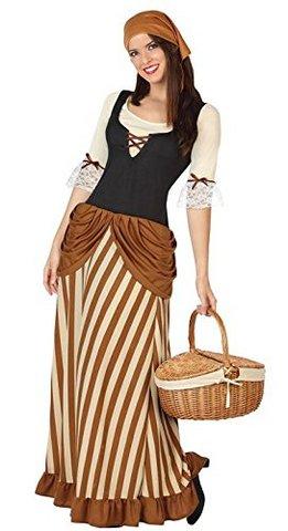 Costume popolana del medioevo donna xl