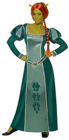 Shrek, fiona costume di carnevale
