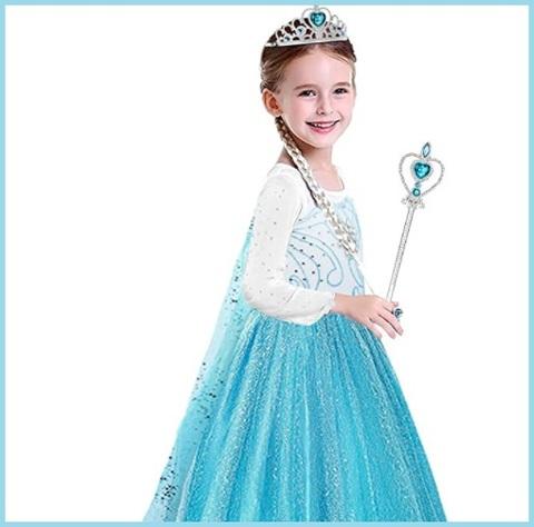 Frozen regno di ghiaccio elsa regina delle nevi principessa