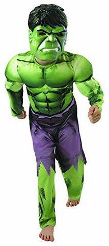 Hulk deluxe costume, con muscoli