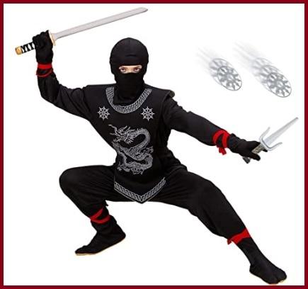 Ninja  costume carnevale bambino