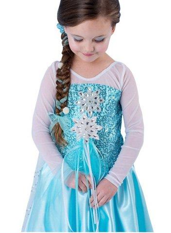 Vestito abbigliamento di frozen 120 cm
