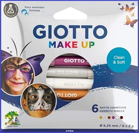 Pitture per il viso per carnevale per bambini