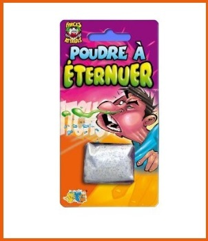 Giochi e scherzi per carnevale polvere per far starnutire