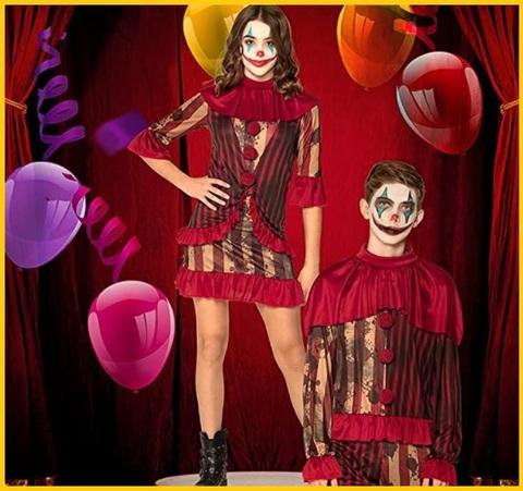Costume intero horror per halloween bambini