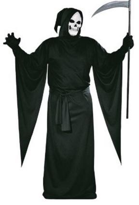 Costume horror della morte per halloween