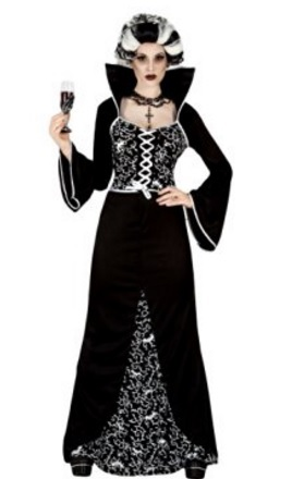 Costume coppia vampiri per halloween