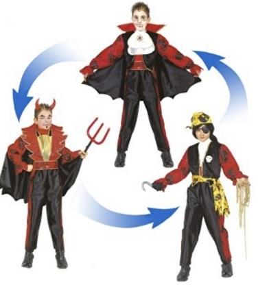 Costume Di Halloween Da Vampiro Per Bambini