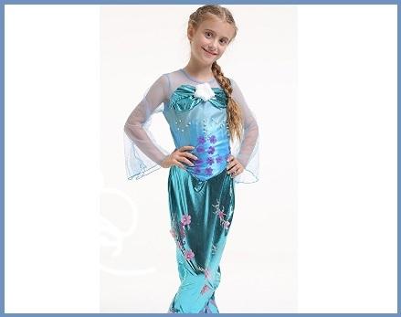 Costume carnevale sirena