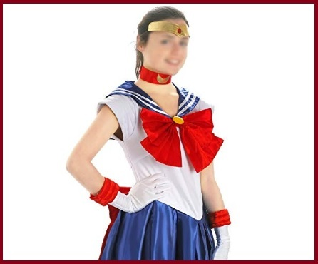 Costume carnevale sailor moon