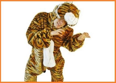 Costume Carnevale Uomo Tigre