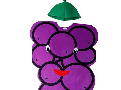Costume carnevale uva
