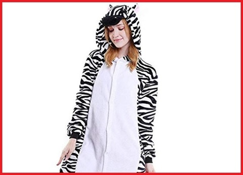 Costume Carnevale Zebra