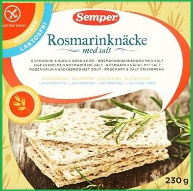Cracker al rosmarino e sale senza glutine