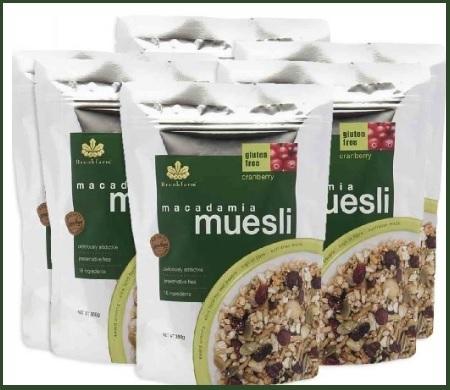 Cereali muesli senza glutine 6 pacchi