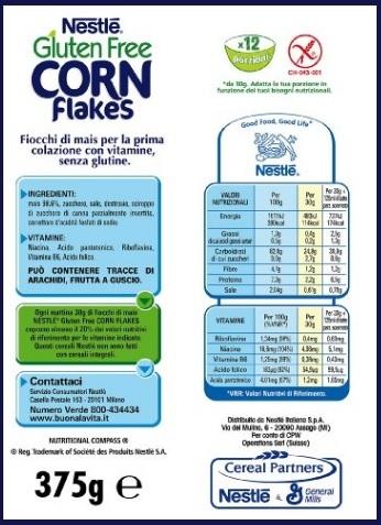 Classici corn flakes senza glutine