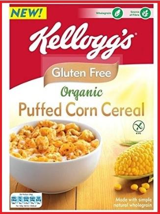Corn flakes cereali kellogg's senza glutine